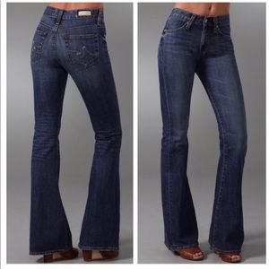 AG Farrah 70s bell bottom Jeans 28R 👍🏻 condition